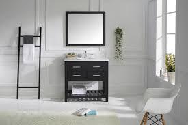 bathroom black fresca vanity with mirror and ladder closeout set fresca platinum vanities 24