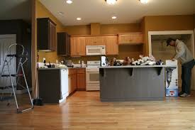 kitchen wall colors with oak cabinets. Decoration Kitchen Color Ideas With Maple Cabinets Wall Paint Colors In 17 Oak