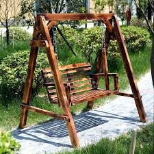 outdoor wooden swing show heaven wood wood swing set leisure patio outdoor rocking chair child balcony wood chair wooden outdoor swing sets australia