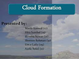 Types Of Clouds Ppt Cloud Formation Types Causes