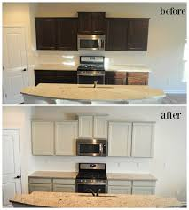 painted kitchen cabinets before and after.  Before Full Size Of Cabinet U0026 Storage How To Spray Paint Kitchen Cabinets  Cupboard Makeover  And Painted Kitchen Cabinets Before After