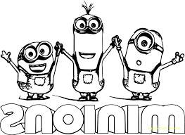 Minions Coloring Pages Pdf Special Offer Book On To Printable Summer