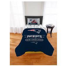 comforter set bedding nfl new england