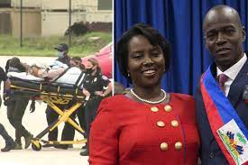 first lady, Martine Moise, revealed ...