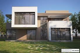 Modern Concrete House Plans Small Concrete House Plans Vacation House Plans Sloped Lot 3