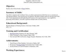 Nursing Graduate Resume Astounding Nursing Student Resume Templates Graduating