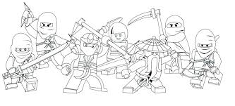Ninjago Coloring Pages Coloring Pages Of The Green Ninja New