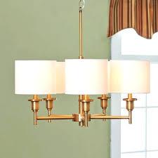impressive modern drum shade chandelier image ideas