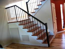 Rare Metal Railing Staircase Photo Inspirations Best Ideas Glass Stair  Translatorbox