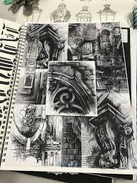 Sketchbook Design Ideas Ian Murphy Collage Inspiration Sketching Sketchbook