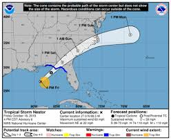 Tropical Storm Nestor Forms In The Gulf Of Mexico See