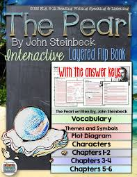 the pearl by john steinbeck novel study literature guide flip book  the pearl by john steinbeck novel study literature guide flip book