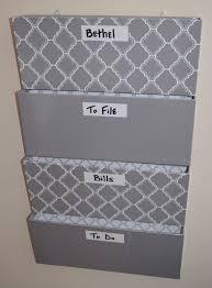 wall file organizer diy full size of flip file wall