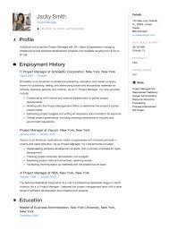 Project Manager Resume Full Guide 12 Examples Word Pdf 2019