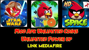 Angry Birds Rio, Space, Star Wars Mod Apk Download - YouTube