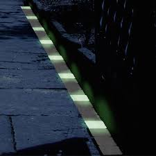 lighting idea. Lining A Walkway With Glow In The Dark Bricks Is Brilliant Idea. If You Lighting Idea