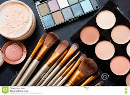 makeup tools photography. royalty-free stock photo. download professional makeup brushes tools photography d