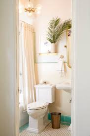 Apartment Rental Bathroom Makeover Takeover Redesign Brady Tolbert White  and Turquoise _001 ...