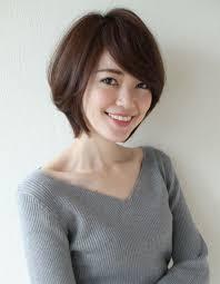 大人可愛いひし形シルエットショートボブsy 566 ヘアカタログ髪型