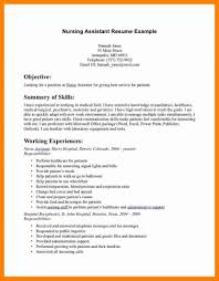 7 Nurse Aide Cna Resume Resumed Job Assistant Examples Sample With