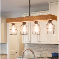 Kitchen lighting fixture Flush Mount Varley 4light Kitchen Island Pendant Rachidinfo Peninsula Lighting Wayfair