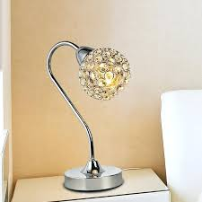 Small Crystal Bedroom Lamps Lamps Awesome Crystal Desk Lamp Crystal Lamps  For Sale Crystal Table Lamps