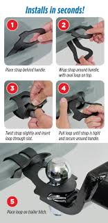 rv product manuals support portal thetford printable tow strap instruction card