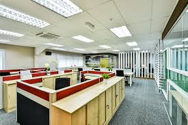 entire office decked. The Office Is Decked Out In Neutral Tones, Creating A Minimalist And Productive Space. Entire N