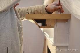 brilliant how to build a fireplace mantel shelf building our the d i y house mommy and surround