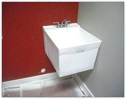 wall hung utility sink home wall mount utility sink galvanized laundry wall mounted utility sink uk