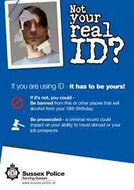 Police Sussex Argus Id Of Teenagers Poster In The Warned Campaign Dangers Fake New