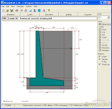Small Picture Free Retaining Wall Design Software Unbelievable Cantilever And