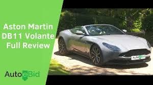 2020 Aston Martin Db11 Volante Full Review 55 Minutes Youtube