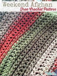 Afghan Crochet Patterns Simple Free Pattern] Fast And Easy Weekend Afghan Knit And Crochet Daily