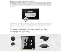 Phiên bản công tắc cảm ứng mới nhất của Nhà thông minh Lumi Việt Nam chính  thức ra mắt