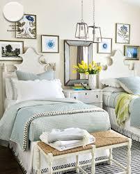 benjamin moore s alabaster paint color in bedroom of ballard designs catalog