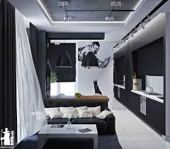 Monochromatic Color Scheme Living Room Artistic Apartments With Monochromatic Color Schemes