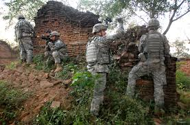 u s department of defense photo essay army sgt michael resendez leads a squad to clear and secure a village during a
