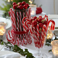 Candy Cane Christmas Table Decorations Have a candylicious Christmas with these creative candy cane 2