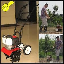professional garden tools 52cc mini gasoline tiller garden mini cultivator petgasoline hand push walking garden rotary tiller machine with
