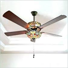 ceiling fan lamp shades home and furniture cool style ceiling fan of double lit stained glass ceiling fan lamp shades
