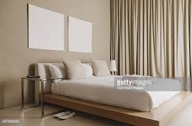 platform in bedroom platform bed stock photos and pictures getty images