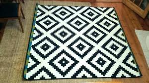 black and white outdoor rug theme