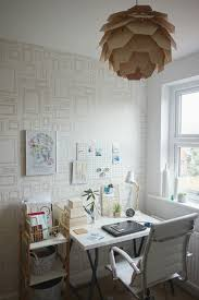 chic office space. Image Courtesy Of Love Chic Living Office Space