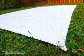 Diy Tent Toward Simple Make A Diy Tyvek Tent Footprint