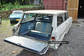 1962 Chevrolet Chevy Ii (nova) 300 Series 3 Seat Wagon Survivor ...