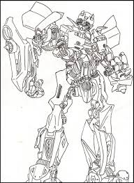 Coloring Pages Transformers Coloring Pictures Bumble Picture For