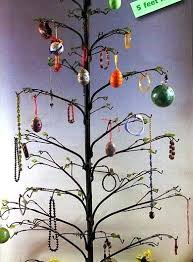 Christmas Tree Ornament Display Stands Beauteous Q32 Ordinary Metal Christmas Tree Ornament Display Wrought Iron