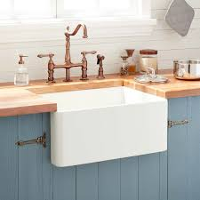 24 reinhard fireclay farmhouse sink biscuit