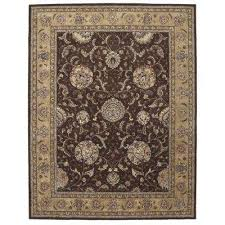 2000 brown 10 ft x 14 ft area rug